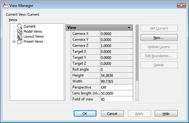 autocad 2010 user documentation view manager