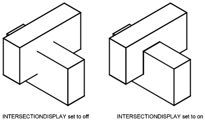 If the dispsilh system variable is on hide displays 3d solid objects