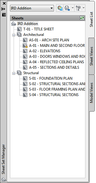 AutoCAD 2010 User Documentation: Understand the Sheet Set Manager