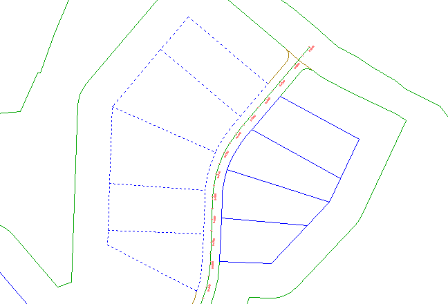 Civil D Draw Line Bearing Distance : Exercise creating parcels from autocad objects
