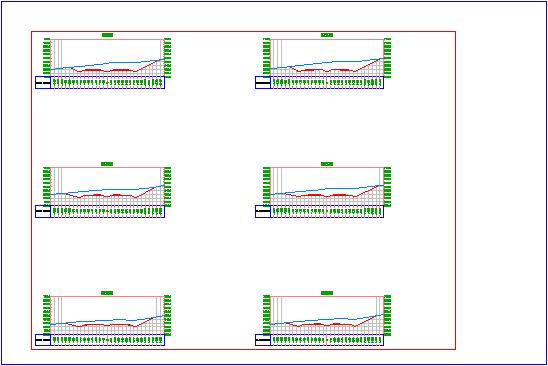 Exercice 2 cr ation de dessins de profils en travers for Fenetre zoom autocad