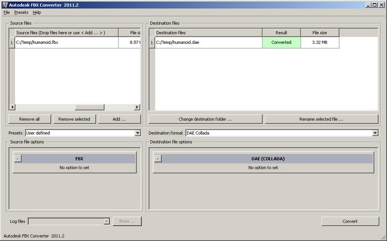 Autodesk FBX SDK Documentation: Sample FBX Applications