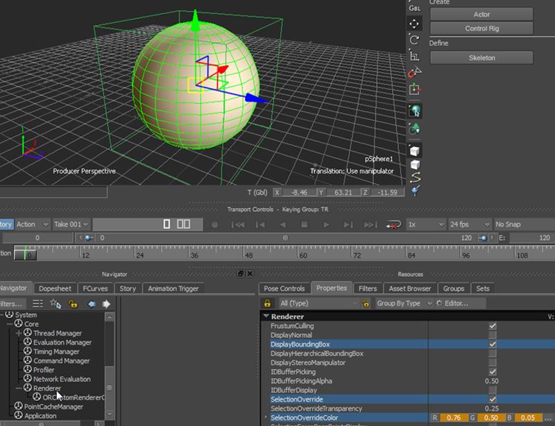 Autodesk MotionBuilder SDK Documentation: Viewport Picking